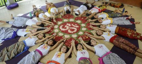 Closing Ceremony Parahita Yoga Teacher Training